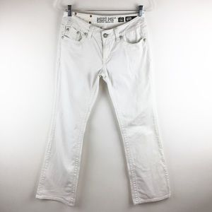 Miss Me Jeans White Bootcut Jeans